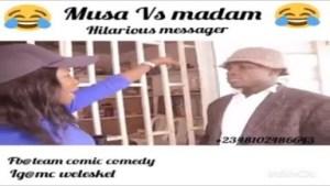 Video: MUSA AND MADAM | Latest 2018 Nigerian Comedy